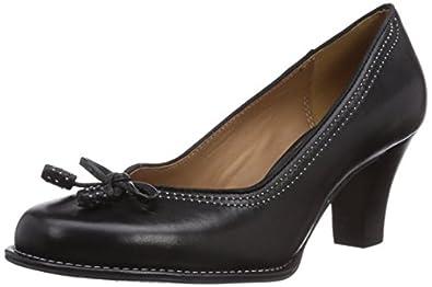 Clarks Bombay Lights, Damen Pumps, Schwarz (Black Leather), 35.5 EU