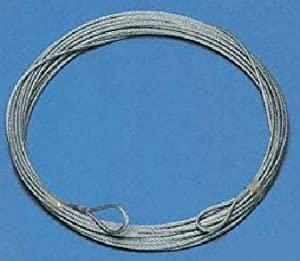 Tennis Net Plastic-coated Steel Wire Cable 13.50M