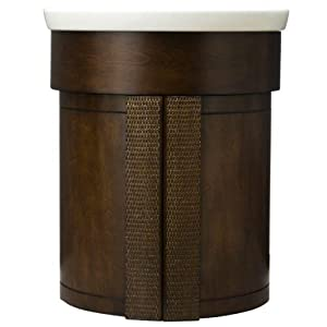 American Standard 9212020.336 Tropic Wall Hung Washstand, Nutmeg