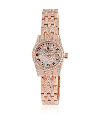 Burgmeister Reloj de cuarzo Diamond Star, Bm120-399 Rosado 26 mm