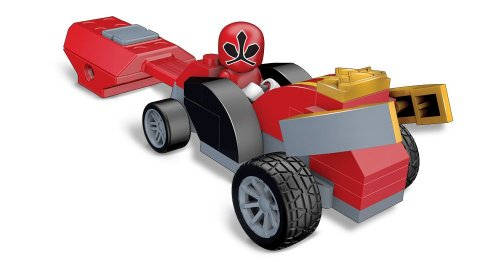 Mega Bloks Power Rangers Samurai Red Pocket Racer - 1