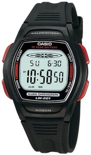 CASIO 19327 LW-201-4AV - Reloj Infantil Unisex caucho