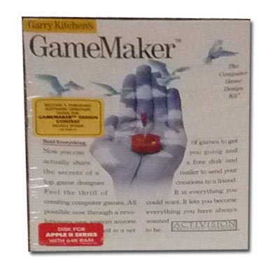 Garry Kitchen's Gamemaker the Computer Game Disign Kit for Apple Ii