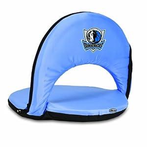 NBA Dallas Mavericks Oniva Portable Reclining Seat, Sky Blue by Picnic Time