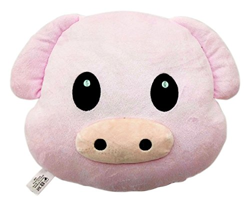 Check Out This Pig Piggy Emoji Pillow Emoticon Cushion Plush Toy
