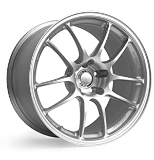 Enkei PF01- Racing Series Wheel, Silver (17×8″ – 5×114.3/5×4.5, 50mm Offset) One Wheel/Rim