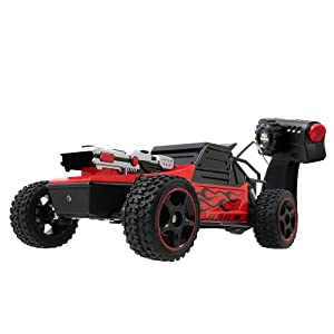 Battle Machines Rapid Fire Battle Buggy - Red 27MHz