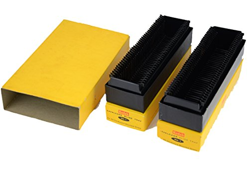 2 Kodak Cavalcade Slide Tray for 40 Cardboard Mounted Slides Each Box (Kodak Slide Tray compare prices)