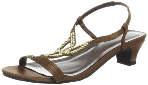 Bronze Wedge Sandals front-1026433