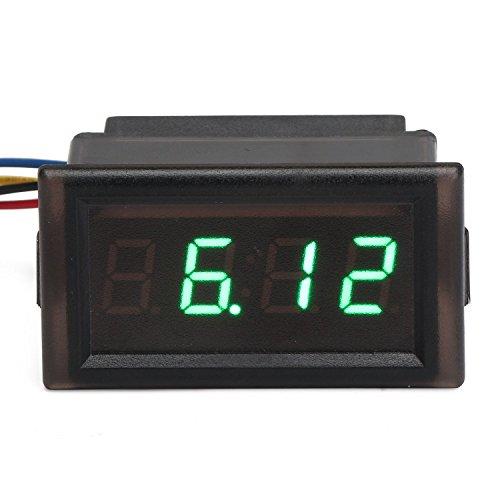DROK-YB28T-W-Wasserdichte-elektronische-Stechuhr-45-30V-Auto-Digital-Clock-Time-Monitor-fr-Automobile-LED-Lichtwecker-Elektronische-Uhren-anzeigen