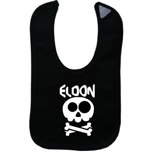 ELDON - Vintage Skull And Bones - Name-Series - Black Bib (Eldon Shirt compare prices)