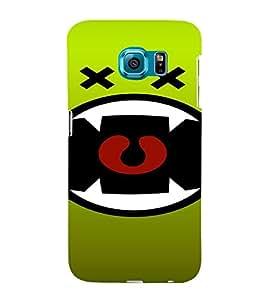 PrintVisa Modern Art Cartoon Design 3D Hard Polycarbonate Designer Back Case Cover for Samsung Galaxy S6