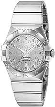 [オメガ]OMEGA 腕時計 コンステレーション シルバー文字盤 コーアクシャル自動巻 100M防水 ダイヤモンド 123.10.35.20.52.002 メンズ 【並行輸入品】