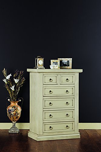 Mueble de madera lacada de l64 x 37 x 98 h