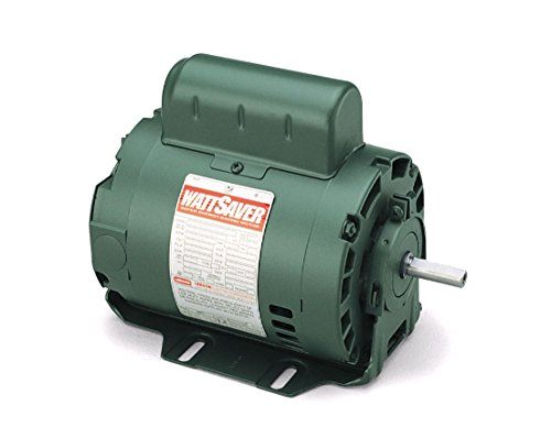 Leeson wattsaver premium efficiency fan motor 1 for Single phase motor efficiency