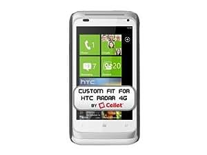Cellet Rubberized Proguard Case for HTC Radar - Black