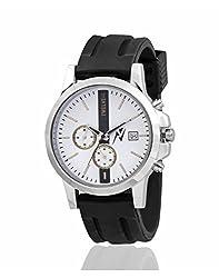 Yepme Mens Chronograph Watch - White/Black_YPMWATCH2021