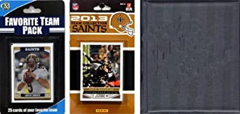 NFL New Orleans Saints Licensed 2013 Score Team Set and Favorite Player Trading Card... by C&I Collectables