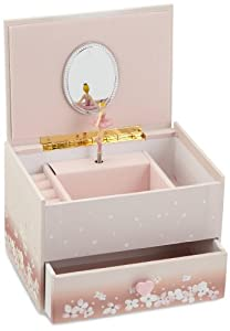 Musicbox kingdom 28034 ballerina musical for Amazon ballerina musical jewelry box