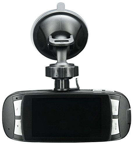Spy Tec G1W Full HD 1080P H.264 Car DVR Camera Recorder Dashboard Cam | Black Box Video Recorder | 120? Wide Angle Lens | Authentic NT96650 + AR0330
