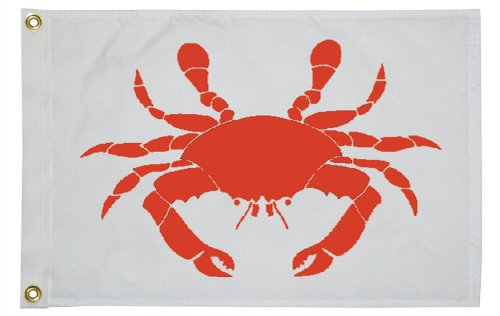 Taylor Made Products 12X18 Crab Flag
