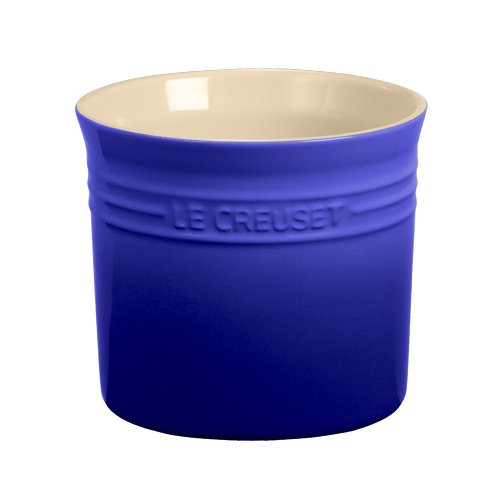 Le Creuset Stoneware Small 28-Ounce Utensil Crock, Cobalt (Le Creuset Utensil Crock Small compare prices)