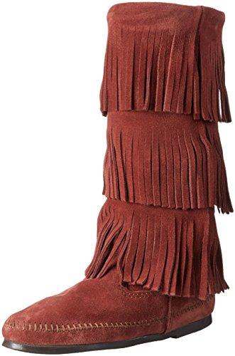 minne-tonka-3-layer-fringe-boot-womens-long-shaft-moccasin-boots
