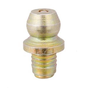 Press Fit, 15/32 Lg., Press Fit, Hydraulic Grease Fittings, Steel