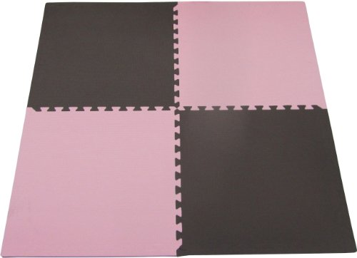 Tadpoles 4 Piece Playmat Set, Pink/Brown