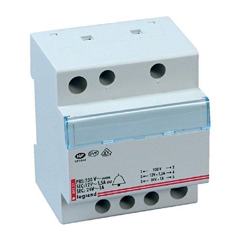 Preisvergleich eu transformator 24v 230 v for Transformateur 220v 24v castorama
