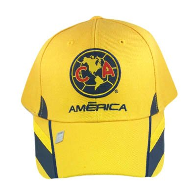 SOCCER MEXICO OFFICIAL AGUILAS AMERICA HAT CAP YELLOW