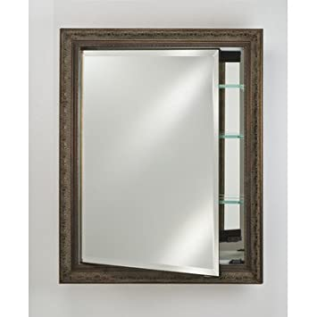 "Signature 17"" x 30"" Recessed Medicine Cabinet Finish: Aristocrat Siena Bronze"