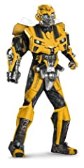 Transformers 3 Dark Of The Moon Movie - Bumblebee 3D Theatrical W/ Vacuform Adult Costume