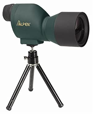 ALPEN 20x50 Compact Waterproof Fogproof Spotting Scope