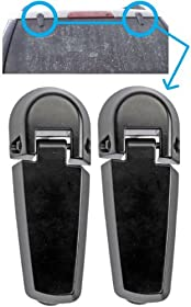 APDTY 035271 Rear Window Glass Hatch Hinge Set/Pair For 2002-2005 Ford Explorer / Mercury Mountaineer (Rear Left & Right Included) (Replaces Ford Part #: 2L2Z-78420A68-AA)