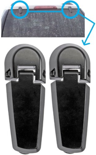 APDTY 035271 Rear Window Glass Hatch Hinge Set/Pair For 2002-2005 Ford Explorer / Mercury Mountaineer (Rear Left & Right Included) (Replaces Ford Part #: 2L2Z-78420A68-AA) (Tailgate Hinge Ford compare prices)