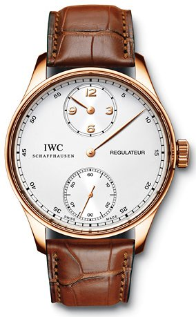 IWC Portuguese Regulateur Mens Watch IW544402