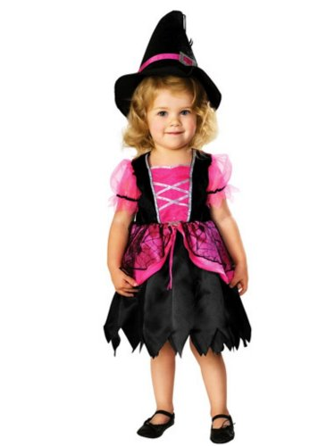 Rubie's Costume Co Baby-Girls Witch Costume with Hat