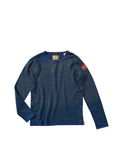 Scotch Shrunk Jersey Azul Marino