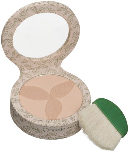 Physicians Formula Organic Wear 100% Natural Pressed Powder, Creamy Natural Organics, 0.3-Ounces