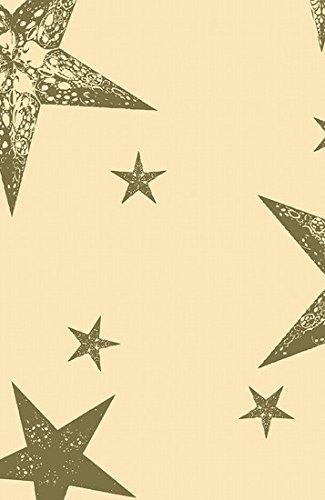 Duni Tischdecke aus Dunicel 138 x 220 cm My Star Cream