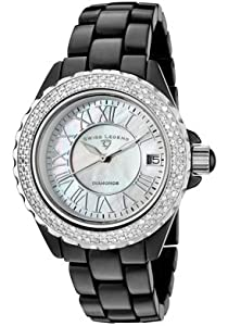 Swiss Legend Women's 20051-WBKWSR Karamica Black High Tech Ceramic Diamond Watch