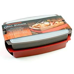 Charcoal Companion 4-pc. Grill Station Set -  - Charcoal Champion