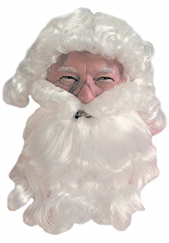 Curly White Santa Beard and Wigs Set [35]