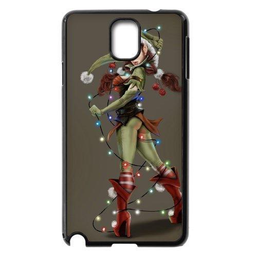 Samsung Galaxy Note 3 N9000 Illustration Girl Phone Back Case Diy Art Print Design Hard Shell Protection Aq043095