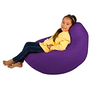 Kids Hi-BagZ - Kids Bean Bag Gaming Chair - Childrens Beanbag (Water Resistant) PURPLE from Hi-BagZ