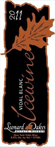 2011 Leonard Oakes Estate Winery Vidal Blanc Ice Wine 375 Ml