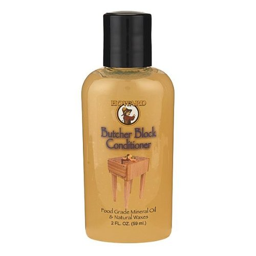 Howard Butcher Block Conditioner, 2 Fl. Oz.