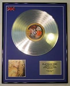 Amazon.com: SHAKIRA/LTD EDITION CD PLATINUM DISC/RECORD ...