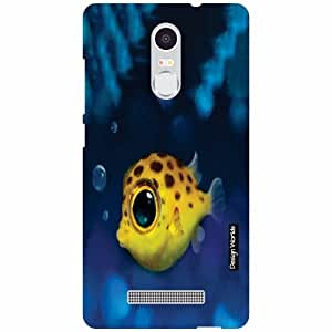 Design Worlds Xiaomi Redmi Note 3 Back Cover - Fish Designer Case and Covers